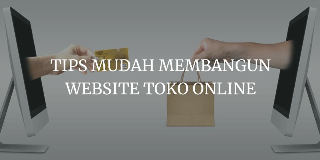 membangun website toko online