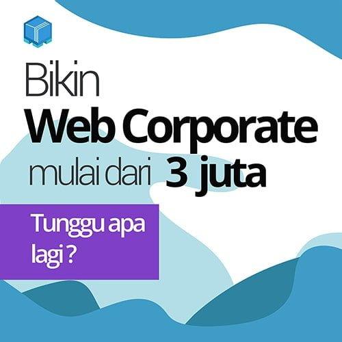 jasa pembuatan website corporate