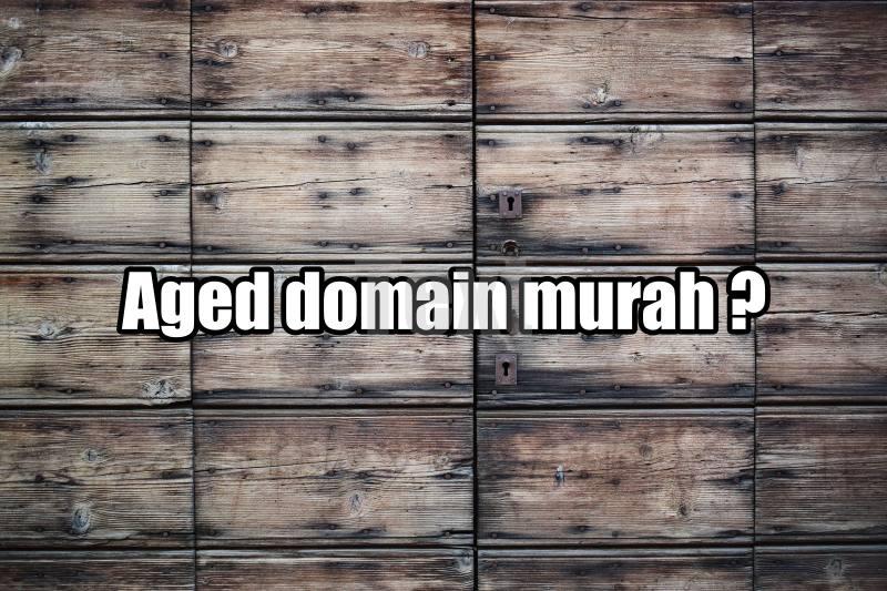 aged domain murah