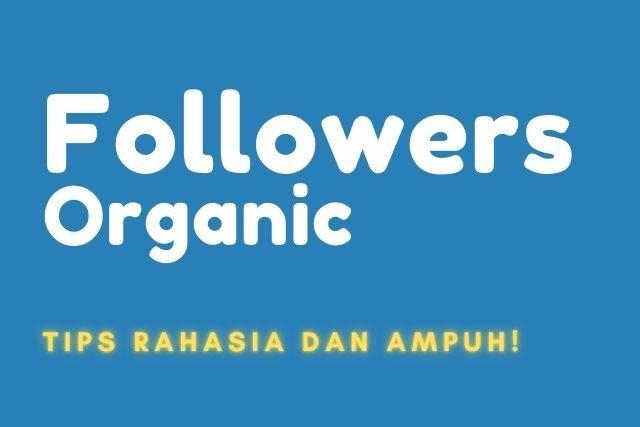 Cara Mendapatkan Followers Gratis Secara Organik